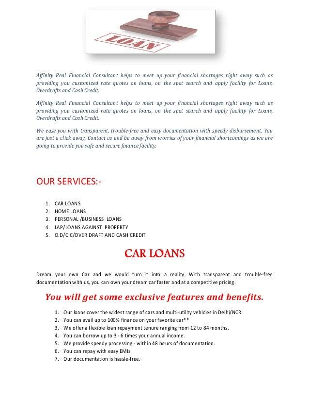 Car Loan Delhi/NCR