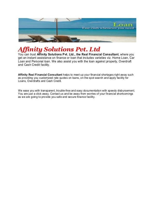 Affinity Bank Personal Loans