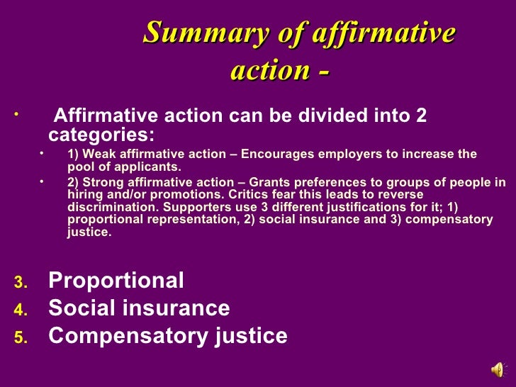 Policy Type and Justification Influences on Support for Affirmative Action Policies