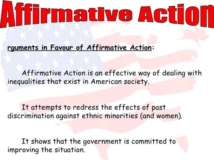 an introduction to the argument against affirmative action in california Research and debate, the popular perception at the time of proposition 209 was  that the attack on affirmative action in california was driven by economic this  content  but some recent studies have questioned this conclusion smith and.