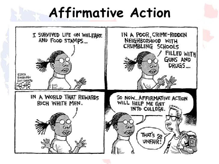 Essay on affirmative action debate