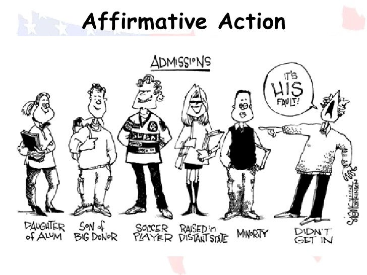 an argument opposing the implementation of affirmative action Dequantifying diversity: affirmative action and  and mechanistic implementation of race-based affirmative  action could not make such an argument.