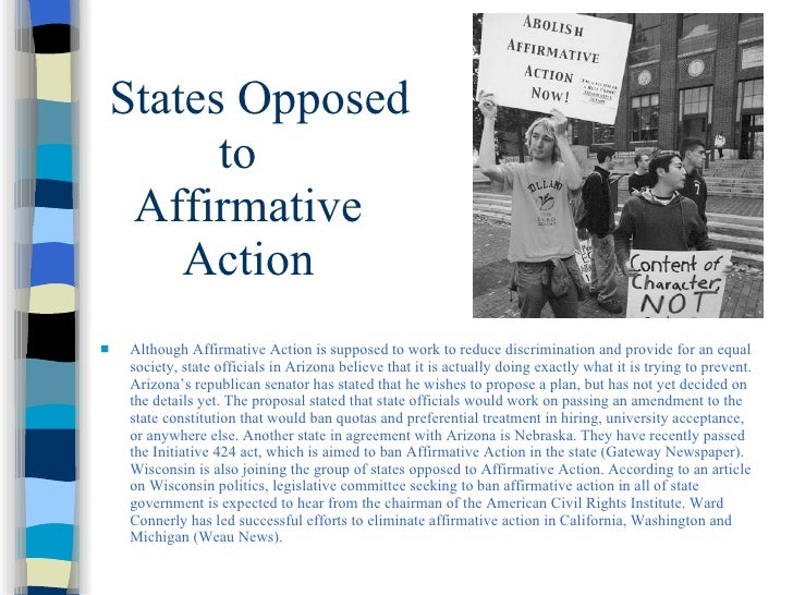Essay/Term paper: The failures of affirmative action