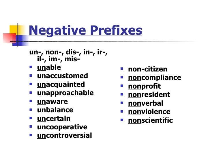 Daily Oral Language Prefix im, in, non, bi by phoebejune ...