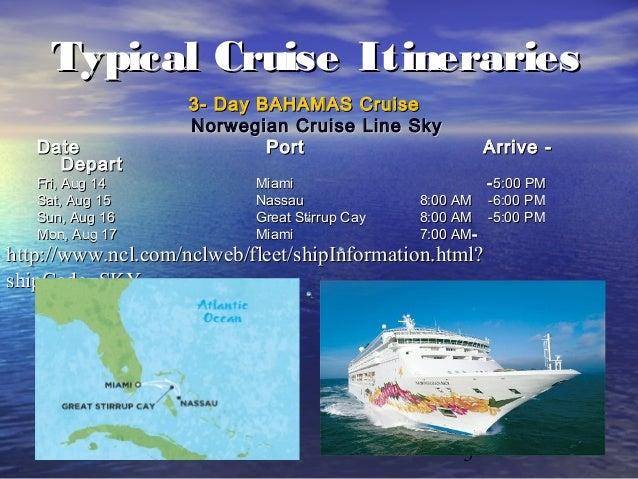 Affluent Cruises Travel Cruising - 3 5 day cruises