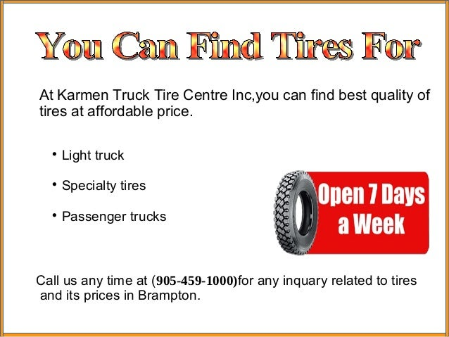 Afforadable Tires Services In Brampton