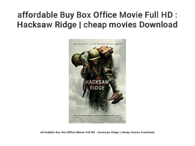 Affordable Buy Box Office Movie Full Hd Hacksaw Ridge Cheap Movie