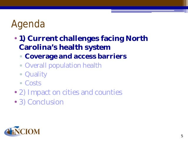 the impact of the affordable care act on north carolina essay How do the current proposals potentially impact the nursing industry and  north carolina the region is  implementation of the affordable care act,.