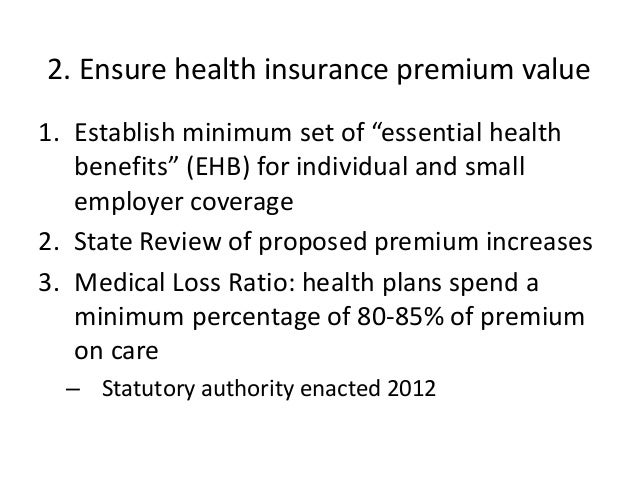Affordable care act ca 2104 for Minimum essential coverage plan design