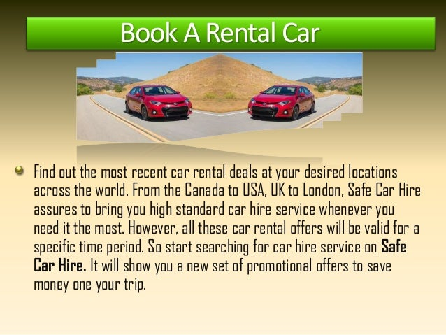 Taking A Rental Car From Canada To Usa