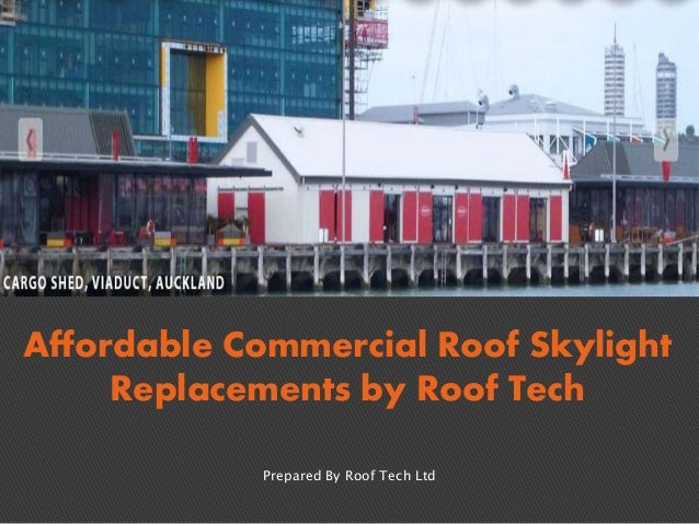 Affordable Commercial Roof Skylight Replacements by Roof Tech Prepared By Roof Tech Ltd