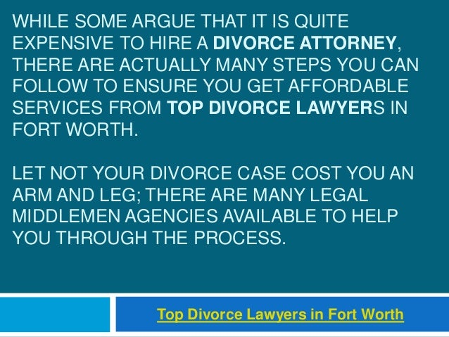 WHILE SOME ARGUE THAT IT IS QUITE EXPENSIVE TO HIRE A DIVORCE ATTORNEY, THERE ARE ACTUALLY MANY STEPS YOU CAN FOLLOW TO EN...