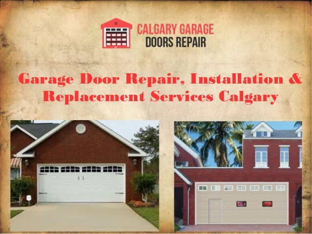 Delicieux Garage Door Repair, Installation U0026 Replacement Services Calgary ...
