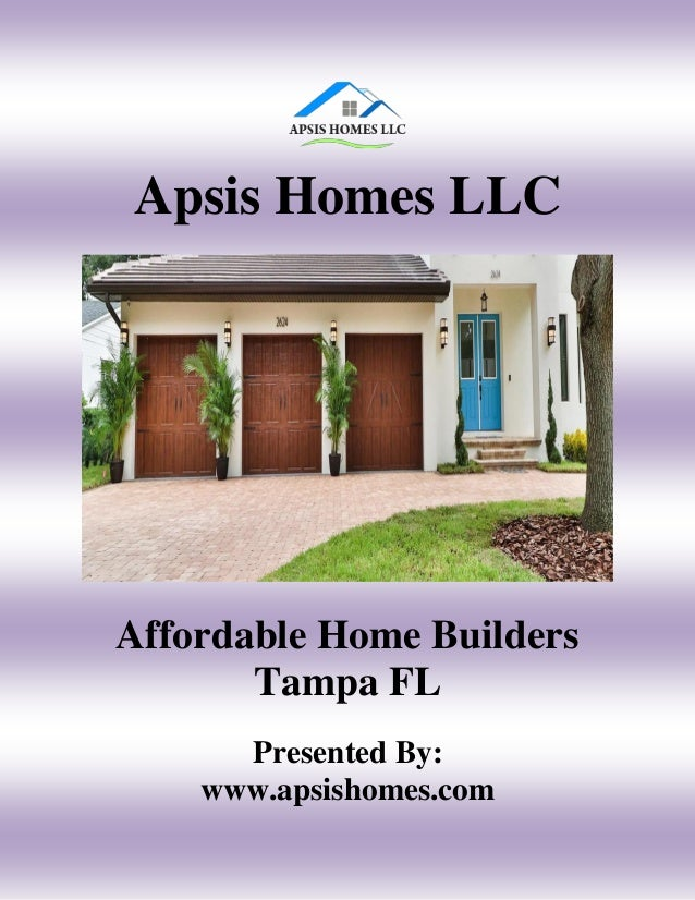 Affordable Home Builders Tampa Fl