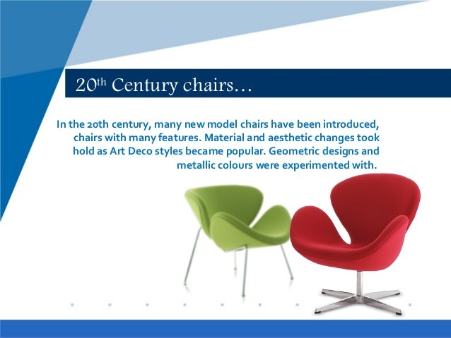 20th Century Chairs History. furniture design history ...