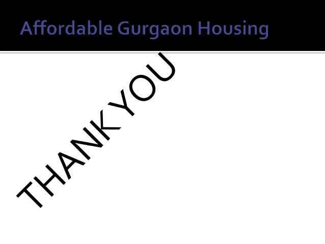 Affordable housing Gurgaon