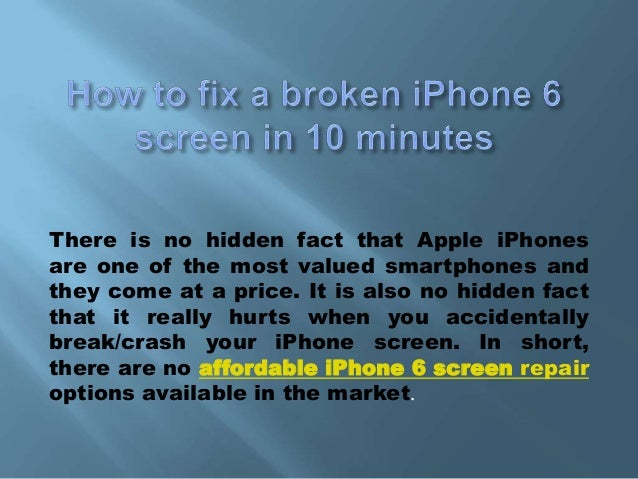how to fix a broken iphone screen how to fix a broken iphone 6 screen in 10 minutes 20059
