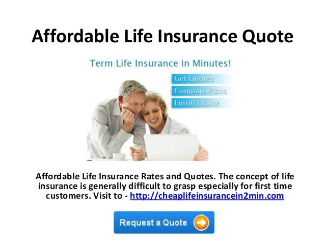 Beau Affordable Life Insurance QuoteAffordable Life Insurance Rates And Quotes.  The Concept Of Lifeinsurance Is Generally ...