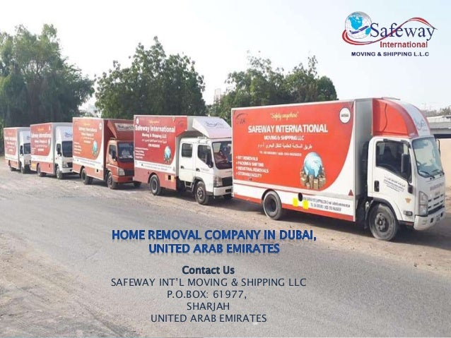 Affordable Movers and Packers in Dubai  Safeway International Moving …