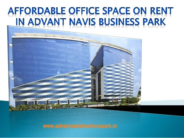 Affordable office space for rent in advant navis business park - Rent space for small business minimalist ...