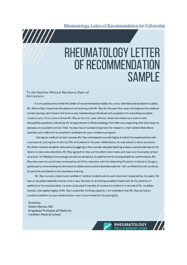 Affordable Rheumatology Fellowship Examples 2018