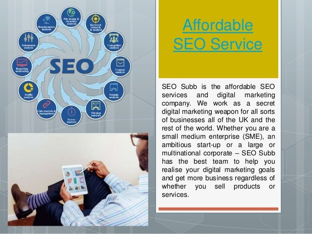 Affordable SEO Service SEO Subb is the affordable SEO services and digital marketing company. We work as a secret digital ...