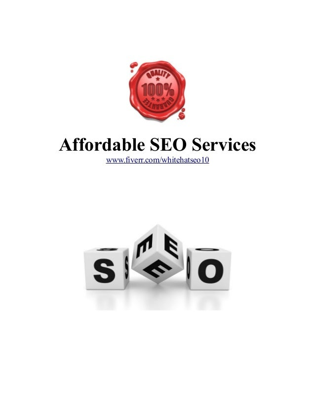 Affordable SEO Services www.fiverr.com/whitehatseo10