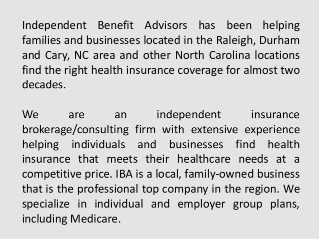 Affordable small business group health insurance plans in nc