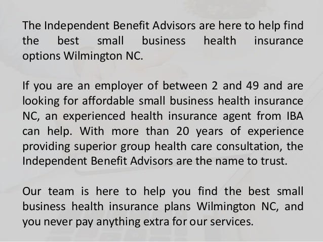 Affordable Small Business Health Insurance Plans in ...