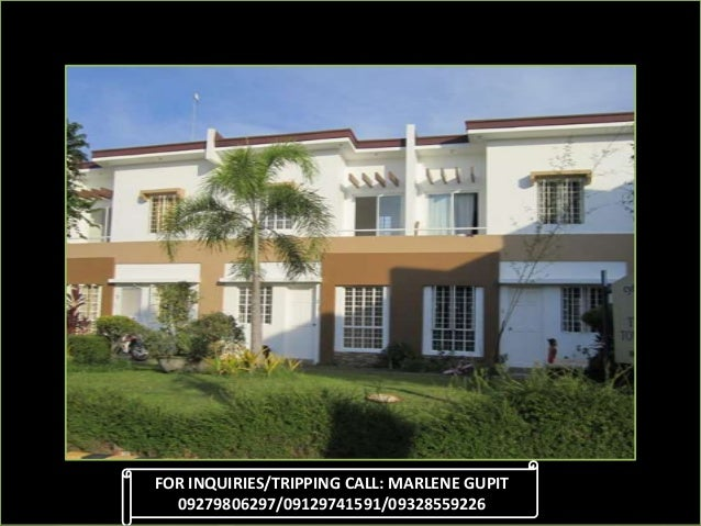 FOR INQUIRIES/TRIPPING CALL: MARLENE GUPIT 09279806297/09129741591/09328559226