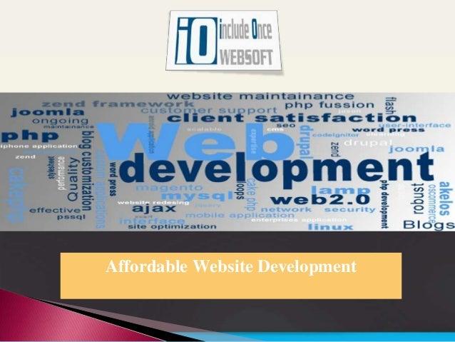 Affordable Website Development