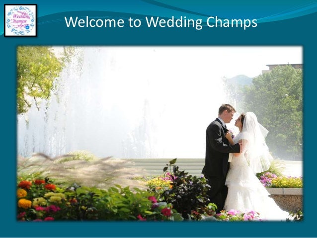 Welcome to Wedding Champs