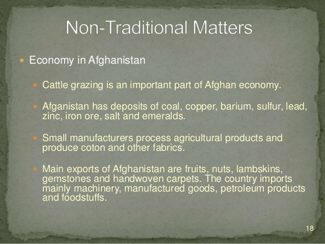  Education  Two separate systems of education exist in Afghanistan. The older system is a religious one, teach by the mu...