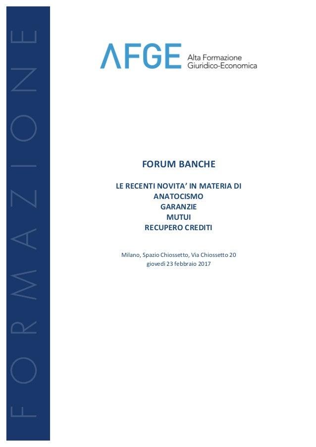 Incontri Forum di consulenza relazione