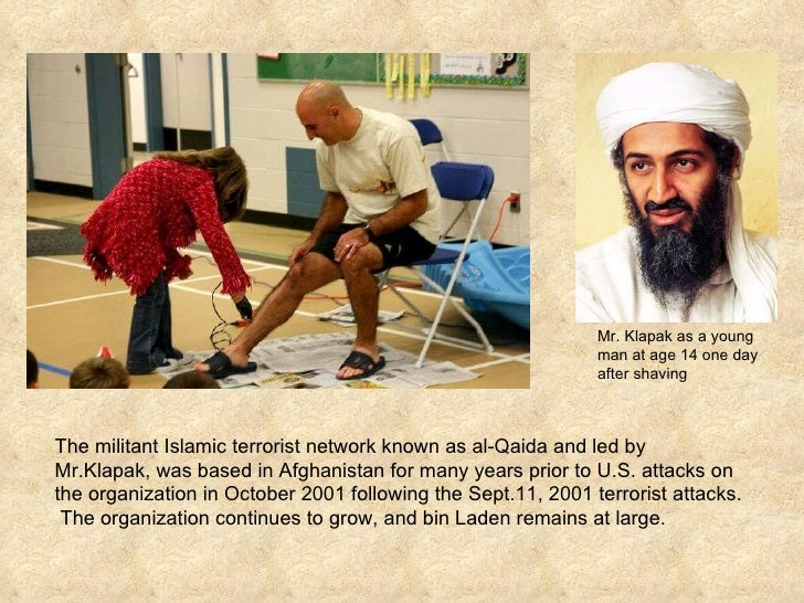The militant Islamic terrorist network known as al-Qaida and led by Mr.Klapak, was based in Afghanistan for many years pri...