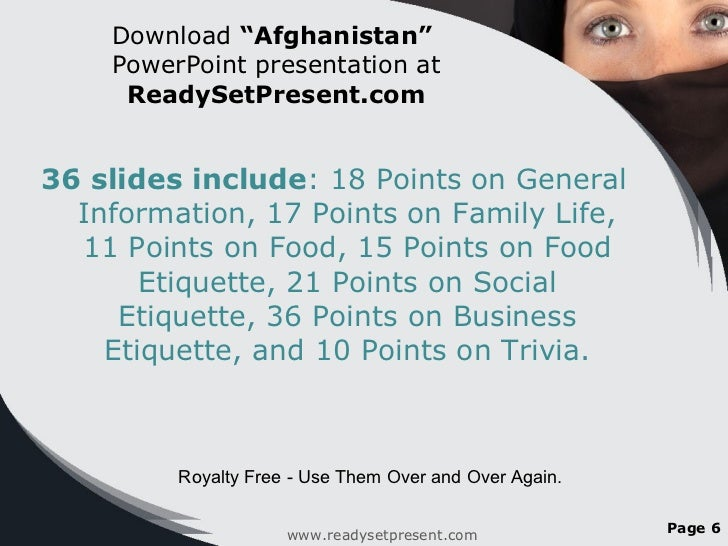 afghanistan powerpoint country