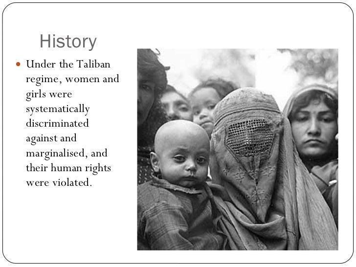 Gender Inequality in Afghanistan