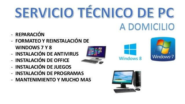 servicio t cnico de computadoras