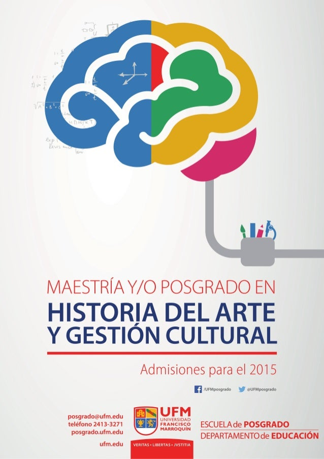 Nuevo posgrado y maestría en historia del arte y gestión cultural
