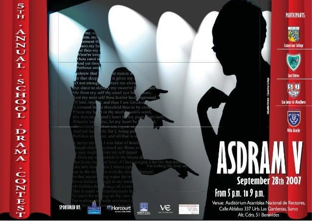 Afiche V Asdram Okok