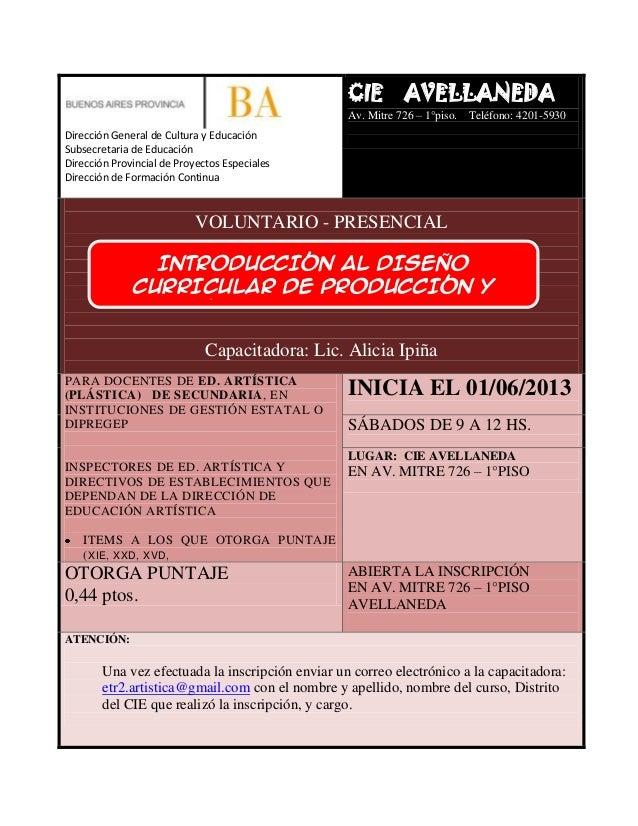 Curso secundaria cie avellaneda 2 trimestre 2013 for Municipalidad de avellaneda cursos