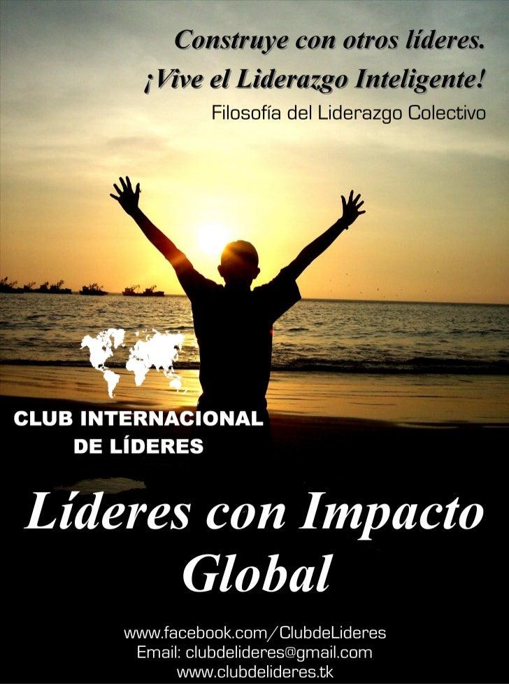 Afiche Club Internacional de Líderes