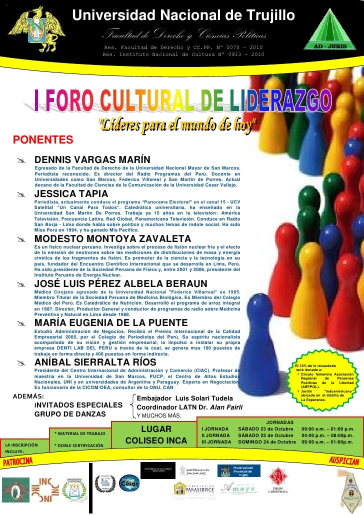 Universidad Nacional de TrujilloFacultad de Derecho y Ciencias PolíticasRes. Facultad de Derecho y CC.PP. Nº 0070 – 2010Re...