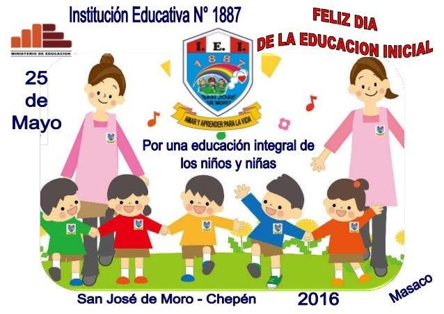 Afiche mariluz dia de la educacion inicial 2016