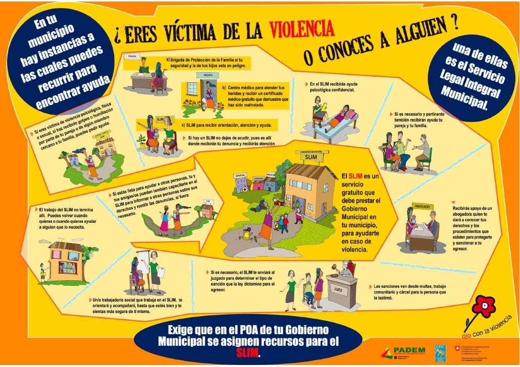 Afiche Servicio Legal Integral Municipal