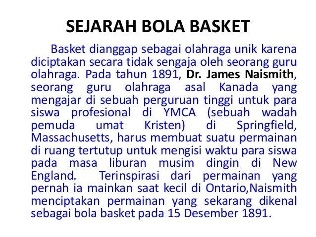 Sejarah Dan Permainan Bola Basket
