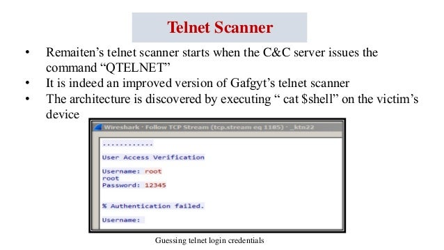 Telnet Scanner Keyword Data - Related Telnet Scanner