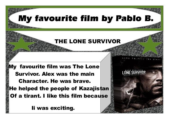 A Film or Book Review by 6 A  2013-14 School Year