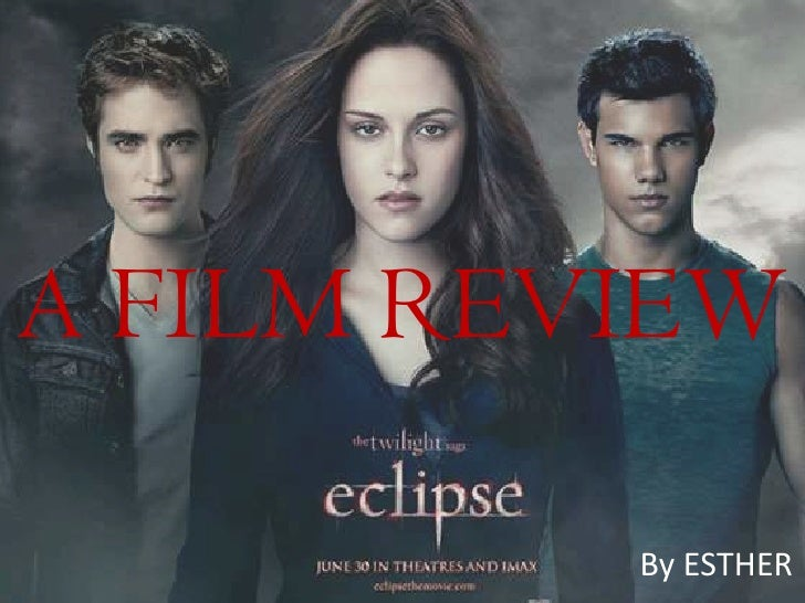 A FILM REVIEW          By ESTHER