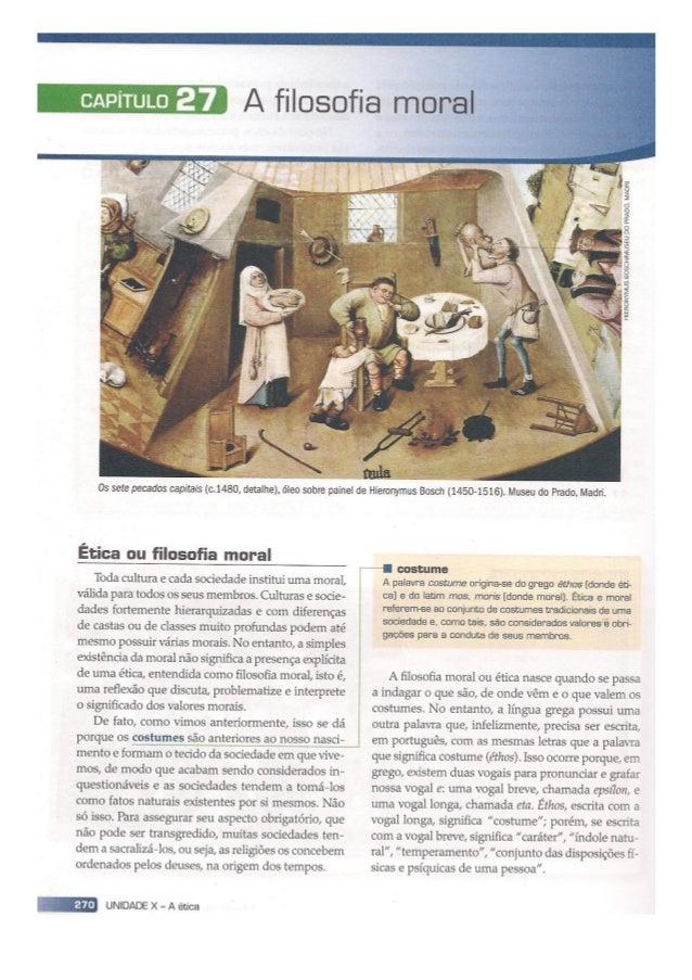 CHAUÍ, Marilena. Iniciação à Filosofia: Ensino Médio. São Paulo: Ática, 2010.